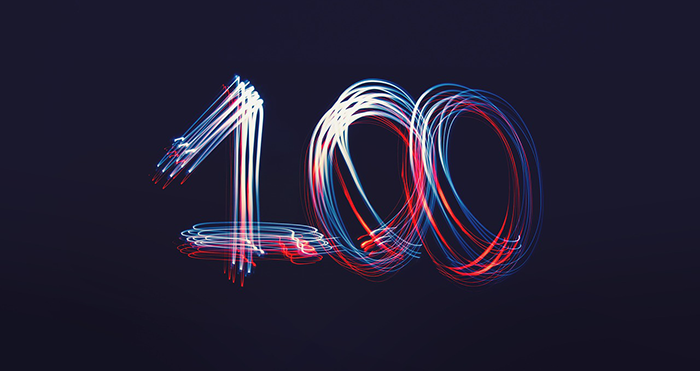 Celebrating 100 years image
